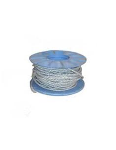 CABLE TISSU 3x0.75 BLC/NR